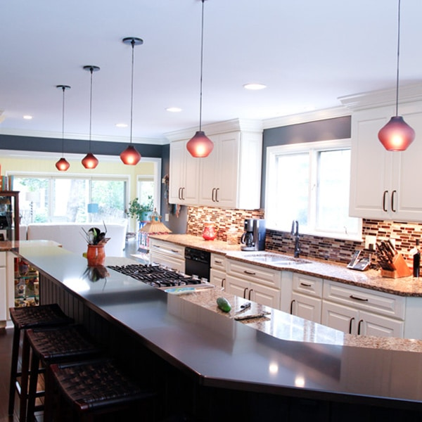 Large Island Kitchen