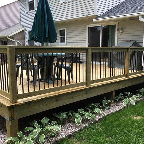 Treated Deck Remodel