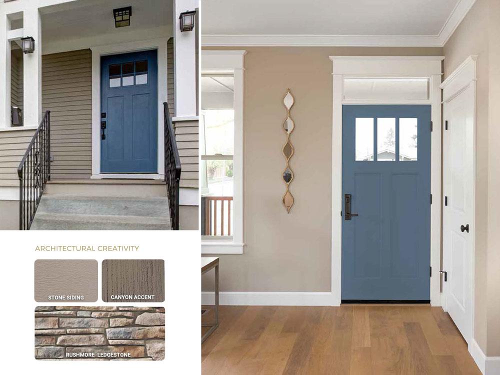 Entry Door Color Trends 2020-2021
